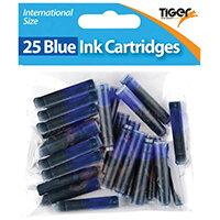Tiger Blue Ink Cartridges, Pack of 300 301090