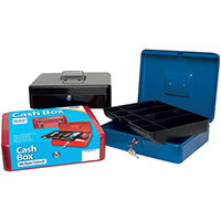 Cash Box 12 Inch Assorted Pack of 6 301172