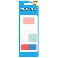 Tiger Assorted Design Erasers Pack of 60 302022