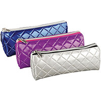 Quilted PVC Pencil Case Pack of 12 302179