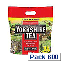 Yorkshire 1-Cup Tea Bag Pack of 600 1108