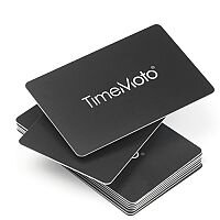 Safescan TimeMoto RF-100 RFID Badges for TimeMoto Time Clock Systems 125-0603 Set of 25