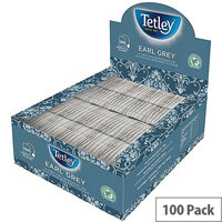 Tetley Tea Bags String and Tag Earl Grey Ref A01420 [Boxed 100]