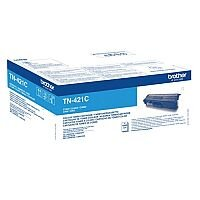 Brother TN-421C Standard Yield Cyan Toner Cartridge TN421C