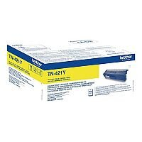 Brother TN-421Y Standard Yield Yellow Toner Cartridge TN421Y
