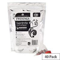Twinings Superfruity Pyramid Pack of 40 F12530