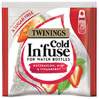 Twinings Cold Infuse Watermelon Mint and Strawberry Pack of 100 F15120