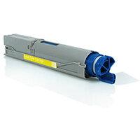 Compatible OKI Yellow C3300 / C3400 / C3600 / C3530 43459329 Laser Toner Cartridge