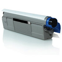 Compatible OKI Black C5650 / C5750 43865708 8000 Page Yield Laser Toner Cartridge