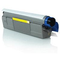 Compatible OKI Yellow C5650 / C5750 43872305 2000 Page Yield Laser Toner Cartridge