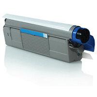 Compatible OKI Cyan C5650 / C5750 43872307 2000 Page Yield Laser Toner Cartridge