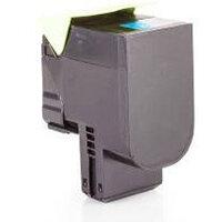 Compatible Lexmark CX310 Std Yld Cyan 80C2SC0 802S 2000 Page Yield Laser Toner Cartridge