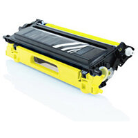 Compatible Brother TN135 Yellow 4000 Page Yield Laser Toner Cartridge