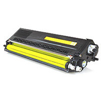 Compatible Brother TN325 Yellow 3500 Page Yield Laser Toner Cartridge