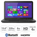 Toshiba C850 2GB 320GB 15.6 Inch Laptop