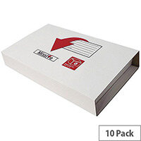 Value Medium Book Pack 313x250x65mm (Pack of 10) MVBP3526-10