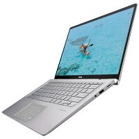 "ZenBook14 UM462DA-AI037T - Stylus and Sleeve Included - Display Touchscreen 14"" Full HD - CPU AMD Ryzen 5 R5-3500u - RAM 8GB - Storage 256GB SSD - HDMI, USB, SD Card Slot - Windows 10 - Colour: Light Grey"