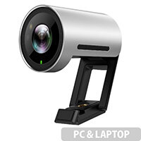 Yealink UVC30DESKTOP Webcam - USB 3.0 Camera - Depth of View: 0.5m to 3m - 60fps, 4K, 8.51 Megapixel - Infrared, Microphone, Diagonal View Field - Windows and Mac Compatible