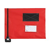 Go Secure Flat Mail Pouch Red 286x336mm (Pack of 1) FP7R