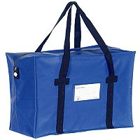 Go Secure Courier Holdall Blue (Pack of 1) H2B