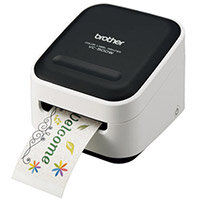 Brother VC-500W Design 'n' Craft Printer   Full Colour Labeller   Wireless   Desktop   Prints from Smartphone and Tablet   Zero Ink Technology