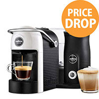 Lavazza A Modo Mio Jolie & Milk Capsule Coffee Machine with Milk Frother White