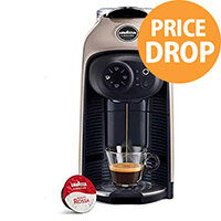 Lavazza Modo Mio Idola Capsule Coffee Machine Greige