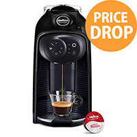 Lavazza Modo Mio Idola Capsule Coffee Machine Black Ink