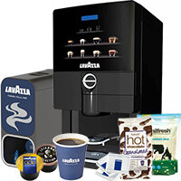 Lavazza Blue LB 2600 One Touch Coffee Machine Bundle Pack Special Offer