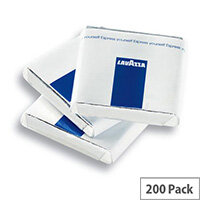 Lavazza Branded Dark Chocolate Mini Bars Box of 200 Individually Wrapped Pieces