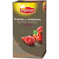Lipton Rosehip Raspberry Tea Pack of 6 x 25 Tea Bags