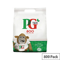 PG One Cup Pyramid Tea Bags Pack of 800 67422456