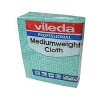 Vileda Medium Weight Cloth Green Pk10