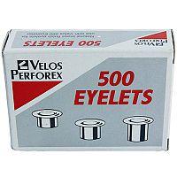 Rexel Eyelets Punching Bolts Brass 4.7mm Diameter 4.2mm Length (Box of 500) Pack 10 20320051