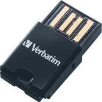 Verbatim Tablet 16GB micro SDHC Memory Card With USB Reader 44058