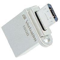 Verbatim Store 'n' Go OTG Micro Metal USB 3.0 Drive 16GB 49825
