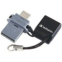Verbatim Store 'n' Go OTG Micro Dual USB 2.0 Drive 16GB 49842