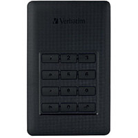Verbatim Secure Portable HDD with Keypad Access 2TB 53403