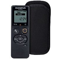 Olympus VN-541PC Voice Recorder 4GB + Carrying Case (Black)