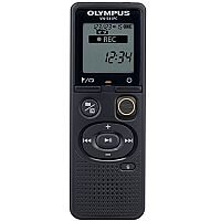 Olympus VN-541PC Digital Voice Recorder With 4GB Of Internal Memory. Black in Colour. 60 Hours of Battery Life, Over 1,500 Hours of Recording. Micro USB Cable Included For Easy Data Transfer. Ideal For Use In Offices, Meeting Rooms, Conferences & More.