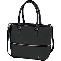 Wenger Eva 13in Womens Expandable Tote With Laptop Sleeve - Black 601077