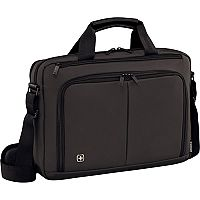 Wenger Source 14in Laptop Briefcase with Tablet Pocket - Grey 601065