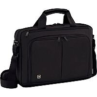 Wenger Source 16in Laptop Briefcase with Tablet Pocket - Black 601066