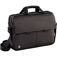 Wenger Route 16in Laptop Messenger Bag with Tablet Pocket - Grey 601061