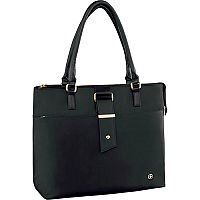 Wenger 16in Ana Womens Laptop Tote with Tablet Pocket - Black 601375