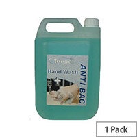 SOAP TEEPOL 0518 LSC ANTI-BACTERIAL HAND WASH 5LTR