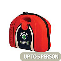 Astroplast Vehicle First Aid Pouch Red Conforms BS8599-2 Standards Up to 5 Person 1018100