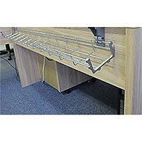 1400mm Desk Wire Cable Management Basket WB1400-S
