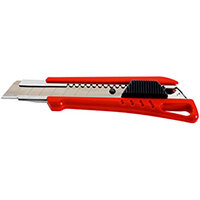 Wurth 1C Cutter Knife With Slider - Cutter-RED-H18MM-L155MM Ref. 071566 21