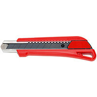 Wurth 1C Cutter Knife With Slider - Cutter-RED-H18MM-L155MM Ref. 071566 210
